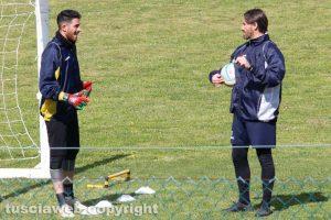 Sport - Calcio - Viterbese - Francesco Forte e Paolo Gobattoni
