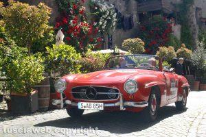 Motori - La Mille miglia a Viterbo