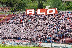 Sport - Calcio - La curva dell'Arezzo
