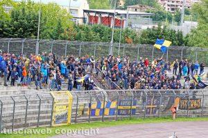 Sport - Calcio - Viterbese - I tifosi gialloblù ad Arezzo