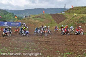 Sport - Motocross - La partenza a Ponte Sfondato