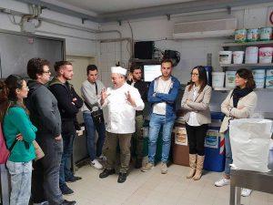 La facoltà di agraria incontra il laboratorio della gelateria Sarchioni di Torre Alfina