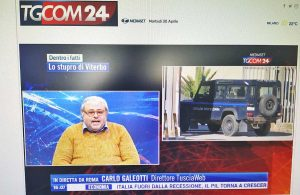 Carlo Galeotti ospite a Tgcom