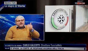 Carlo Galeotti ospite al Tgcom
