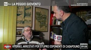 Carlo Galeotti intervistato su Rai3 nella trasmissione Agorà