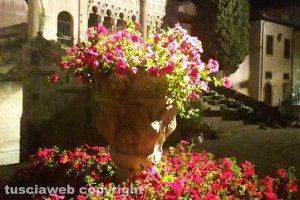 Viterbo - Il palazzo Papale durante San Pellegrino in fiore