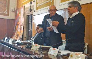 Montefiascone - Il consiglio comunale - Augusto Bracoloni e Sandro Leonardi