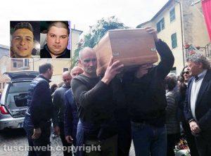 Fabrica di Roma - I funerali di Stefano Federici e Pierpaolo Bartoloni