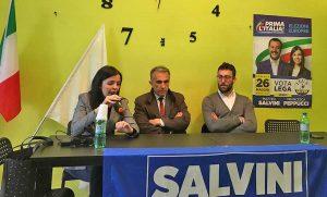 Civita Castellana - L'incontro della Lega nella frazione Borghetto