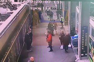 Un'immagine del video diffuso dai tifosi della Viterbese