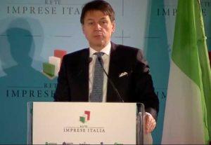 Roma - Il presidente del consiglio a Rete imprese Italia