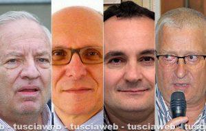 Piero Camilli, Marco Bianchi, Edoardo Giustiniani e Giovanni Giuliani