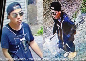 Omicidio Fedeli - Michael Aaron Pang prima e dopo l'uscita dal negozio del delitto