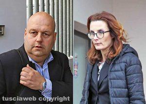 Gli avvocati Remigio Sicilia e Lilia Ladi