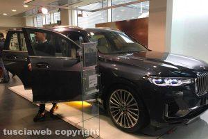 Viterbo - La nuova Bmw X7