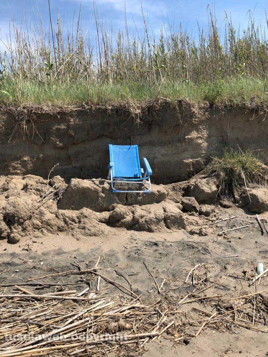 Tarquinia - Una sdraio sulla spiaggia