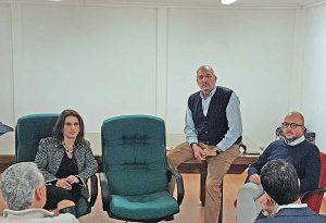 Confagricoltura - Rotelli e Allegrini con il presidente Chiarini