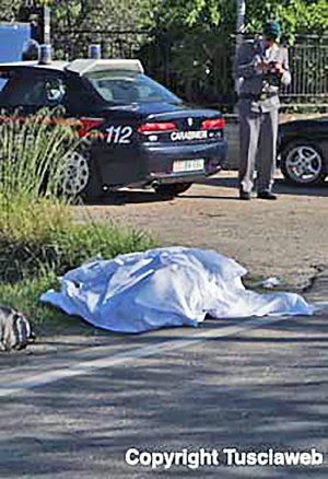 Fabrica di Roma - Falerina - L'incidente del 2 settembre 2010 in cui sono morti Giorgio Rapiti e Samara Pendenza