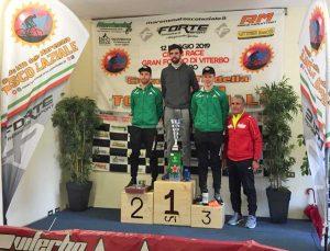 Sport - Cimini Race - Granfondo di Viterbo - Il podio