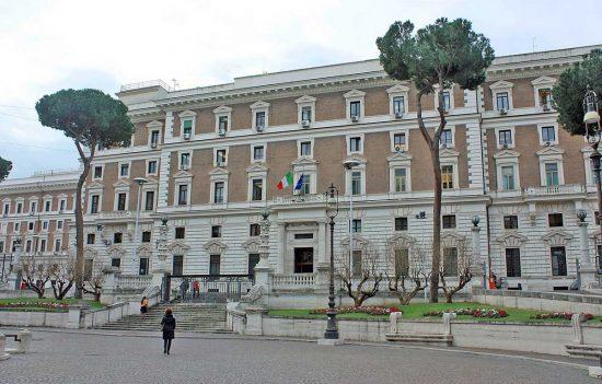 Roma - Il ministero dell'Interno - Viminale