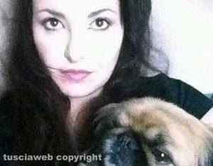 Veronica Torretti e il cane Yumi