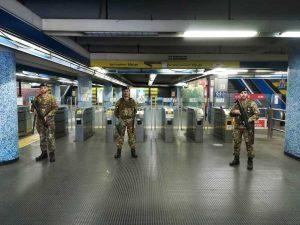 """L'11esimo reggimento Trasmissione a Roma per l'operazione """"Strade sicure"""""""