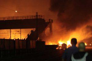 La strage di Viareggio nel 2009