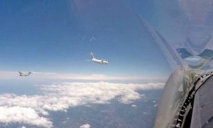 Scramble - L'aereo intercettato dagli Eurofighter