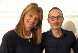 Silvia Somigli e Paolo Pizzo