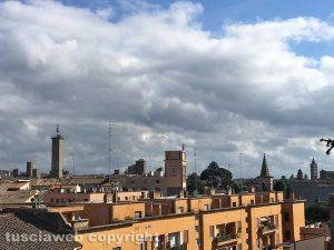 Una panoramica di Viterbo