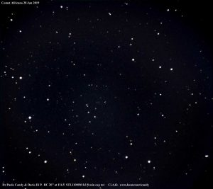 La cometa Africano