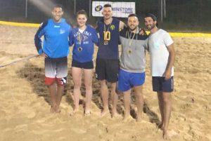 Sport - Beach volley - I vincitori Gold delle Tusciadi