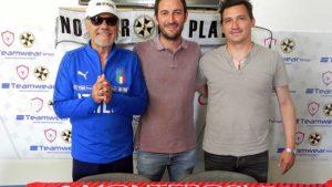 La presentazione dell'allenatore D'Antoni del Monterosi