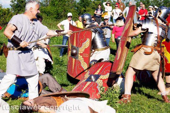 Viterbo - La battaglia di Ferento