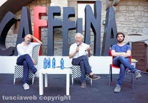 Viterbo - Festival Caffeina - Stefano Liberti, Famiano Crucianelli e Stefano Tedeschini