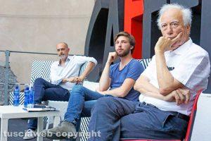 Viterbo - Festival Caffeina - Stefano Liberti, Famiano Crucianelli e Roberto Tedeschini
