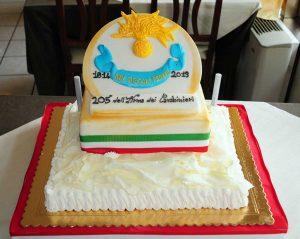 Ischia di Castro - Celebrato l'anniversario dell'Arma dei carabinieri