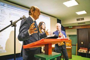 Emanuele al premio Susanna Agnelli