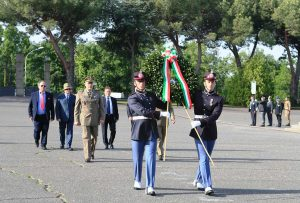 Viterbo - Ex allievi sottufficiali del XL, XLI e XLII, celebrato il quarantennale