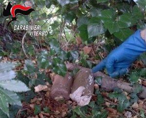 Viterbo - Carabinieri - Operazione Underground - La droga sequestrata