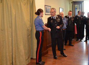 La visita del generale Andrea Rispoli