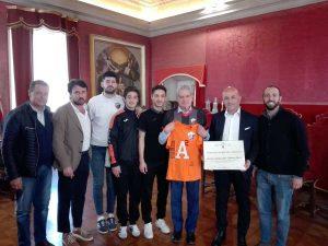 Viterbo - Arena premia l'Asd Active Network Futsal