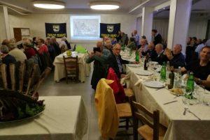 Viterbo - La cena dei protagonisti del rugby viterbese degli anni '60 e '70