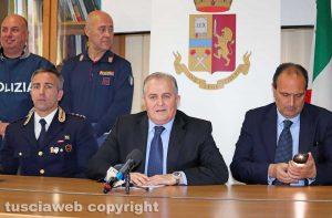 Viterbo - Polizia - Violenza sessuale su minori - Gian Fabrizio Moschini, Massimo Macera e Carmine Ingrosso