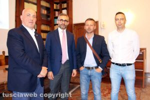 Viterbo - Giovanni Bruno, Tommaso Cassata, Fabio Bartolacci, Pietro Nocchi