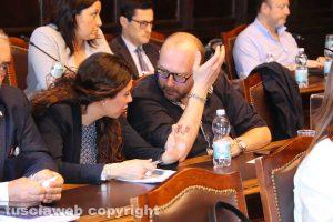 Antonella Sberna con Paolo Bianchini