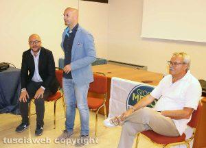 Mauro Rotelli , Nicola Procaccini e Massimo Giampieri