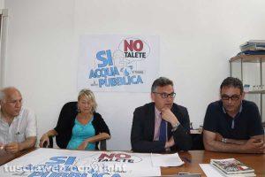 Bengasi Battisti, Paola Celletti, Carlo Mezzetti e Massimo Erbetti