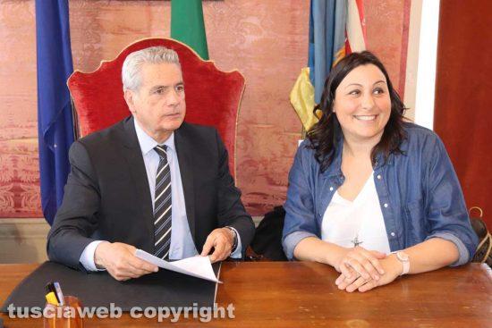 Giovanni Arena e Ludovica Salcini