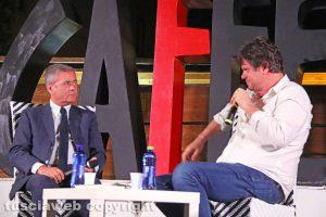 Ezio Mauro e Filippo Rossi a Caffeina